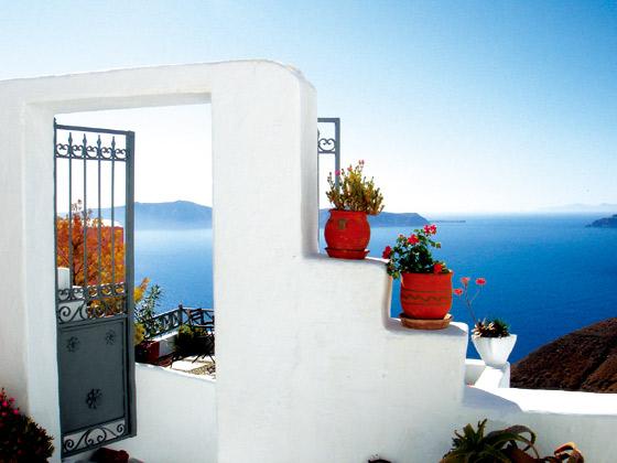 希腊-圣托里尼