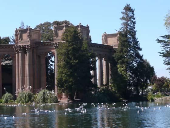美国-旧金山-艺术宫