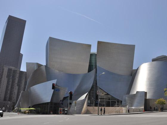 美国-洛杉矶-迪斯尼音乐厅