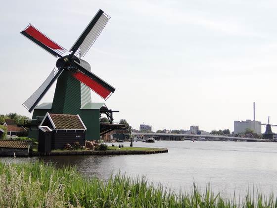 荷兰-风车村