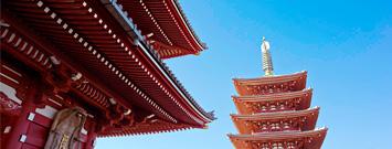 日本本州6日览胜之旅
